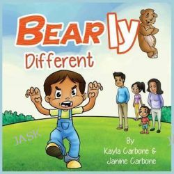 Bearly Different by Kayla Carbone, 9780986293658.