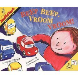 Beep Beep, Vroom Vroom!, Mathstart: Level 1 (Prebound) by Stuart J Murphy, 9780613211888.