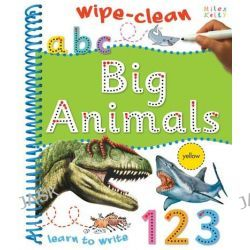 Big Animals, Wipe-Clean Acitivty by , 9781782091899.