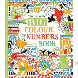 Big Colour by Numbers Book, Colour By Number by Fiona Watt, 9781409566540.