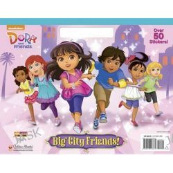 Big City Friends! (Dora and Friends), Big Coloring Book by Golden Books, 9780553497670.