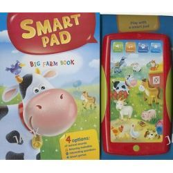 Big Farm Book, Smart Pad by AZ Books, 9781618894175.