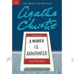 A Murder Is Announced, Miss Marple Mysteries (Paperback) by Agatha Christie, 9780062073631.