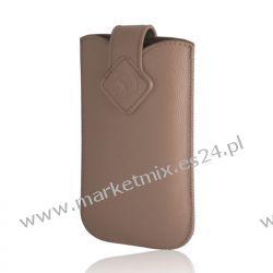 Pokrowiec Slim Up GreenGo Porte XXL (i9100 Galaxy S II) cappuccino