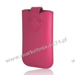 Pokrowiec Slim Up GreenGo Porte XXL (i9100 Galaxy S II) różowy