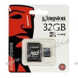 Karta pamięci Kingston microSDHC 32 GB z adapterem