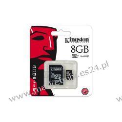 Karta pamięci Kingston microSDHC 8 GB z adapterem