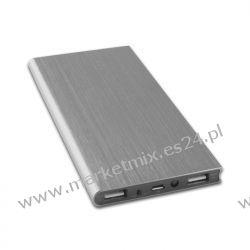 Bateria uniwersalna zewnętrzna Forever PB-012 8000 mAh srebrna