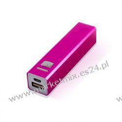Bateria uniwersalna zewnętrzna Forever PB-009 2300 mAh różowa