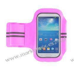 Pokrowiec na ramię Super Fit 4,7'' (Samsung S V mini) Różowy
