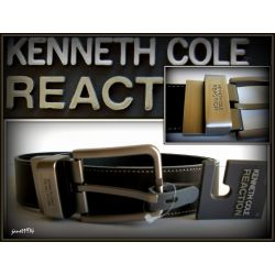 KENNETH COLE PASEK MESKI BONDED LEATHER 34 USA