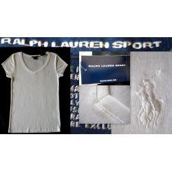 RALPH LAUREN SPORT BLUZKA T-SHIRT  DAMSKI  XL  USA