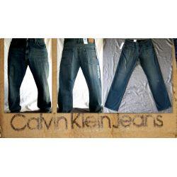 CALVIN KLEIN SPODNIE MESKIE 34/34  STRAIGHT USA