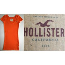HOLLISTER T-SHIRT TOP DAMSKI XS/S/M DLUGI USA