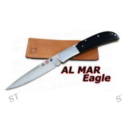Al Mar Eagle Talon Black Micarta Folder Pouch 1005BMT