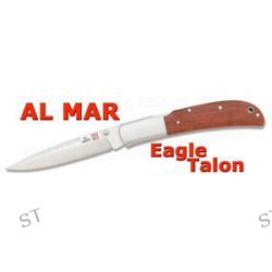 Al Mar Eagle Talon Cocobolo Folder w Pouch 1005ct New