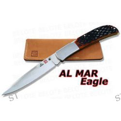 Al Mar Eagle Talon Honey Jigged Bone Folder 1005HJBT