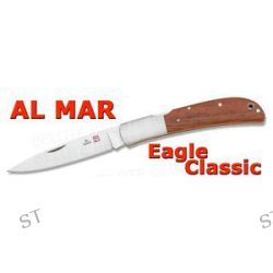 Al Mar Eagle Classic Cocobolo Folder w Pouch 1005C New