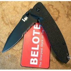 Benchmade Heckler Koch HK Nitrous Blitz Folding Knife Combo Edge 14460SBT