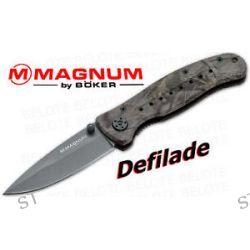 Boker Magnum Defilade Folder Plain Edge 01MB357BM New