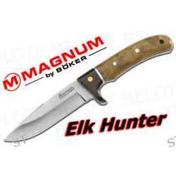 Boker Magnum Elk Hunter Fixed Blade w Sheath 02GL683