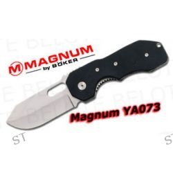 Boker Magnum YA073 Folder G10 Handle Plain Edge 01YA073