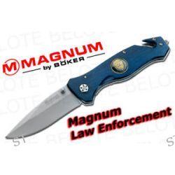 Boker Magnum Law Enforcement Folder Plain Edge 01MB365