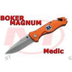 Boker Magnum Medic Folding Knife w Strap Cutter Glass Breaker 01MB364 New