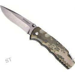 """Boker Magnum ACU Folder Liner Lock Knife G10 3 5"""" 440 Steel Stonewash 01SC461"""