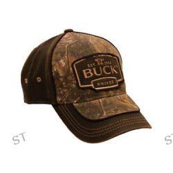 Buck Logo Cap Camo and Suede Brown Original Buck Product 89087 New