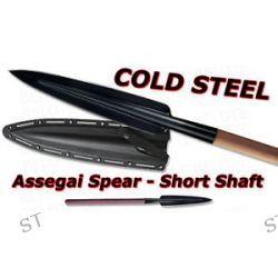 "Cold Steel 36"" Assegai Spear Short w Kydex Sheath 95FS"