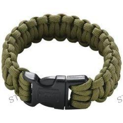 CRKT Onion Para Saw Bracelet OD Small Green Bracelet w Carbide Saw 9300DS