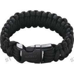 CRKT Onion Para Saw Bracelet OD Small Black Bracelet w Carbide Saw 9300KS