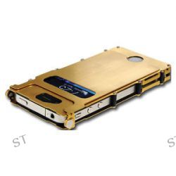 CRKT Inoxcase Gold TI Nitrade Stainless Steel iPhone 4 4S INOX4G