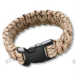 CRKT Onion Para Saw Bracelet OD Small Tan Bracelet w Carbide Saw 9300TS