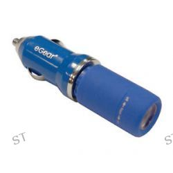 eGear Blue Jolt Volt Combo USB Rechargeable LED Light w 12V Charger 21 1530 00