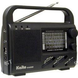 Emergency Preparedness Multiband Solar Handcrank Radio TV Band 007