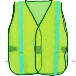 10 Vests Emergency Preparedness Neon Green Safety Vest Lot of 10 SW1 G