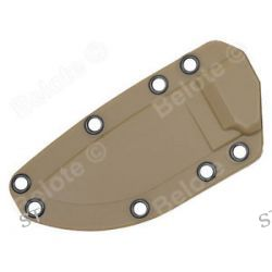 ESEE Model 3 Coyote Brown Molded Sheath for All ESEE Model 3 Configurations 40CB