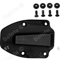 ESEE Clip Plate to Fit ESEE 3 ESEE 4 Black with Hardwear ESEE 4CLIP Plate 3 4