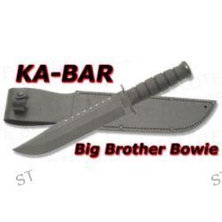 Ka Bar Kabar Knives Big Brother Bowie w Leather Sheath 2211