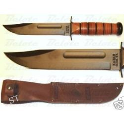 Ka Bar Kabar Knives Full Size USMC Ka Bar Straight Edge 1217