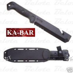 Ka Bar Kabar Knives Becker Tac Tool Fixed Blade Serrated w Sheath BK3 0003 New