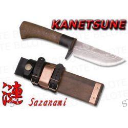 Kanetsune Seki Sazanami Damascus Knife Sheath KB 214