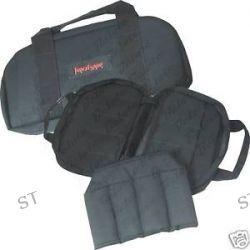 Kershaw Black Nylon Knife Bag w 12 Padded Pockets Z997