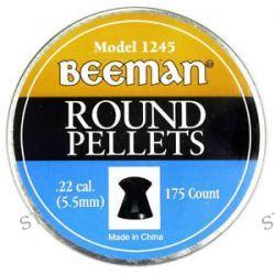 Marksman Beeman 175 Pack of 22 Caliber Round Pellets 1245 New