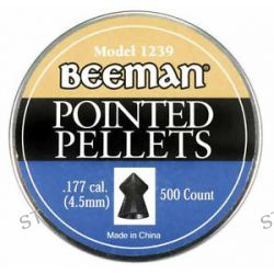 Marksman Beeman 500 Pack of 177 Caliber Pointed Pellets 1239 New