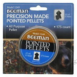 Marksman Beeman 175 Pack of 22 Caliber Pointed Pellets 1249 New