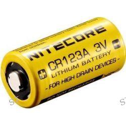 Nitecore Primary Lithium Battery 650mAh High Capacity CR123A