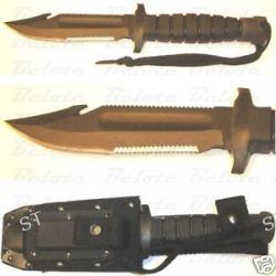 Ontario Knife Spec Plus SP24 USN 1 Survival Knife 8480